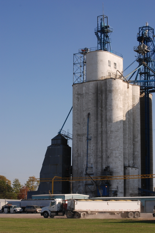 The Altoona, Iowa elevator built by Tillotson Construction of Omaha