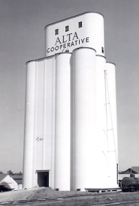 The finished elevator. Photo from the Neil A. Lieb Archive.
