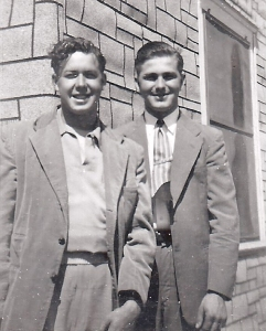 Neil A. Lieb, left, and Blaine Bell .