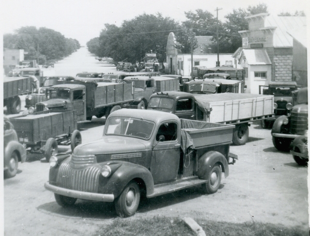 The Tillotson family was adept at seizing opportunities such as the demand for grain storage in the 1940s.