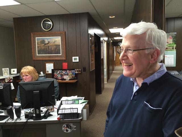 Dick Duffy shares memories of 1954