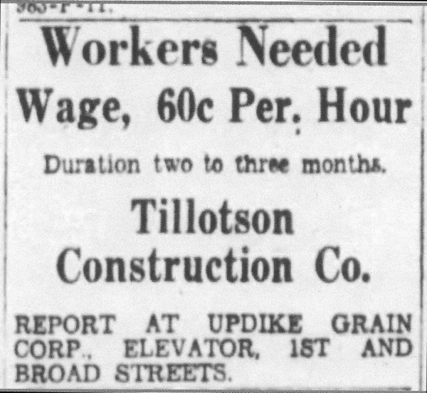 Workers Needed